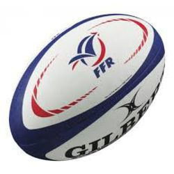 Ballon rugby France Gilbert