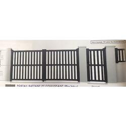 Portail Battant Modèle CALVADOS  1700 x 3000 mm