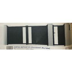 Portail Battant Modèle NEO VISION  1800 x 3000 mm
