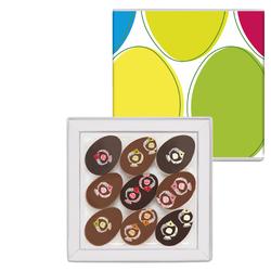 Pâques dans les Bermudes, 9 chocolats
