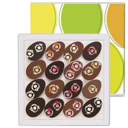 Pâques dans les Bermudes, 16 chocolats