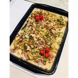 Suggestion du jour : mijoté de canard aux olives et pignons de pin, riz basmati
