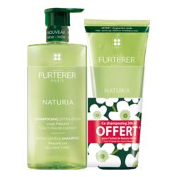 FURTERER - NATURIA - Shampooing Extra Doux Équilibrant, 500ml + 200ml offert