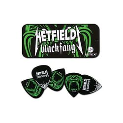 Boite de 6 MEDIATORS collector Hetfield Black Fang