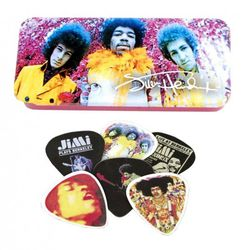 Boite de 12 MEDIATORS collector HENDRIX