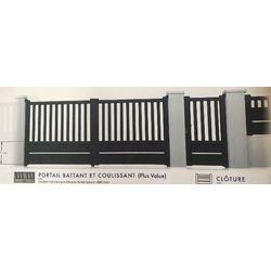 Portail Battant Modèle CANTAL  1700 x 3000 mm