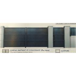 Portail Battant Modèle TARN  1700 x 3000 mm