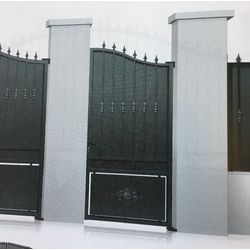 Portillon Acier modèle ARDENNES largeur 1000 mm