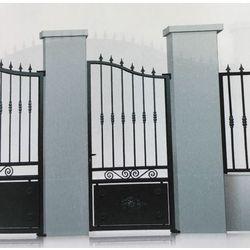 Portillon Acier modèle MOSELLE largeur 1000 mm