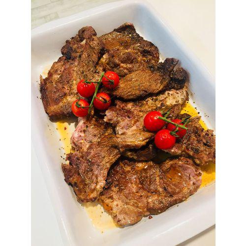 Suggestion du jour : grillade de porc rôtie aux herbes et gratin dauphinois