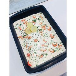 Suggestion du jour : filet de St Pierre aux écrevisses, crème légère citronnée et ciboulette, riz basmati