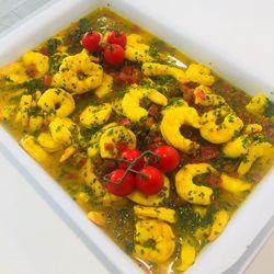 Suggestion du jour : crevettes XXL rôties aux épices douces et riz basmati
