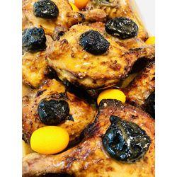 Suggestion du jour : cuisse de canard farcie sauce foie gras, tagliatelles maison