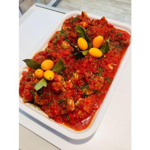 Suggestion du jour : rougail saucisse créole et tagliatelles maison