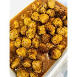 Suggestion du jour : boulettes de veau aux épices douces et riz basmati